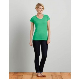 Dames V-Neck Softstyle