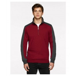 Contrast Performance Zip Sweatshirt