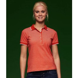 J&N Ladies' Bicolor Polo