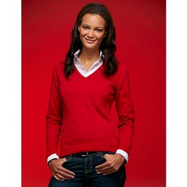 J&N ladies v-neck sweater