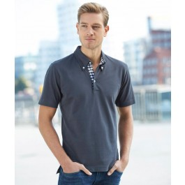 J&N Men's Plain Polo