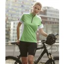 J&N Ladies' Bike-T Half Zip