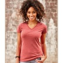 Russell Ladies' V-Neck HD T