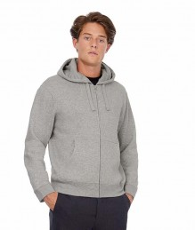 Hooded sweater full zip
