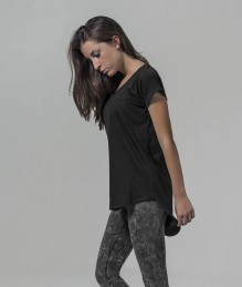 Ladies Long Slub Tee