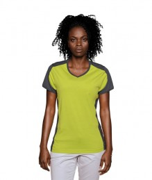 Women's Contrast Performance V-Neck