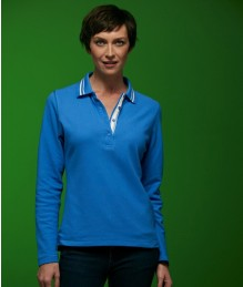J&N Ladies' Polo LS