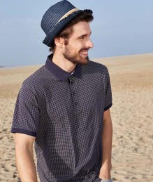 Men's Printed Polo