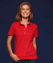 J&N Ladies' Plain Polo