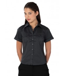 Russell women's roll sleeve shirt