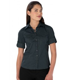 Russell women's roll 3/4 sleeve shirt